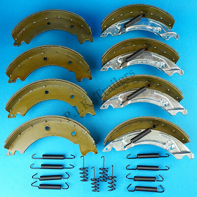 2 Axle Sets of 200x50 KNOTT Type Trailer Brake Shoes for HB505 IFOR WILLIAMS