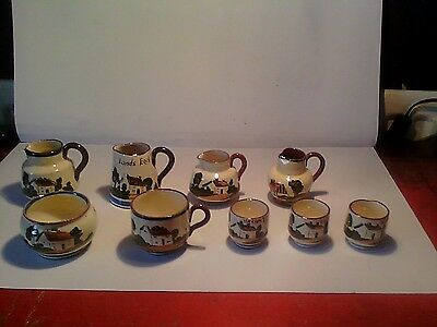 Collection of torquay pottery