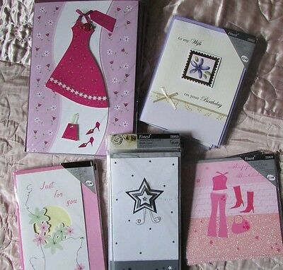 Joblot Bundle Wholesale Quality Birthday Greeting Cards X30 Rrp £77