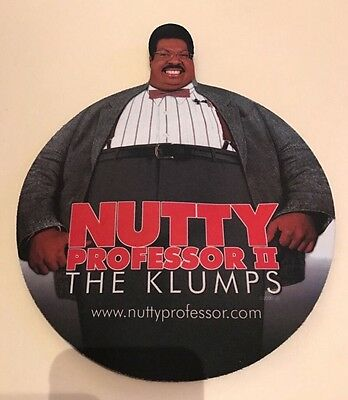 The nutty professor 2 the klumps Movie mouse mat YR 2000 Film Merchandise Mint