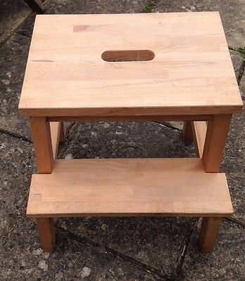 Ikea Wooden Step Stool