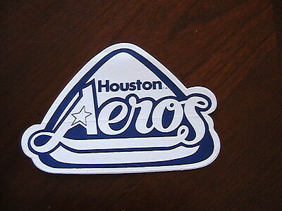 Houston Aeros Vintage Hockey Sticker