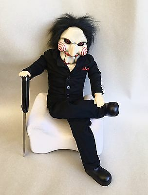 Pupazzo Saw Enigmista Doll Medicom Toy Puppet
