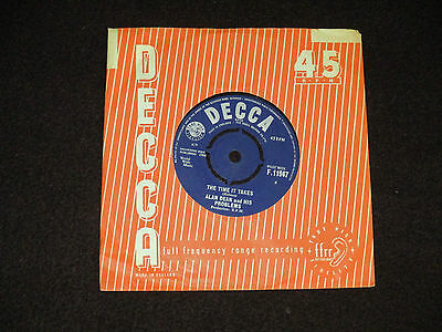 "Alan Dean And His Problems - The Time It Takes 7"" - 1964 Decca F 11947"