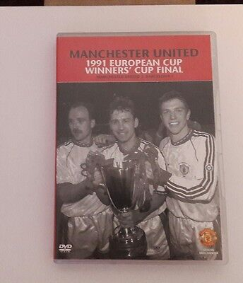 Manchester United 1991 European cup winners cup final