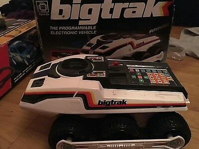 Vintage Boxed Bigtrak The Programmable Electronic Vehicle