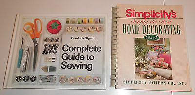 Readers Digest Complete Guide to Sewing Simplicity's Simply the Best Home Book