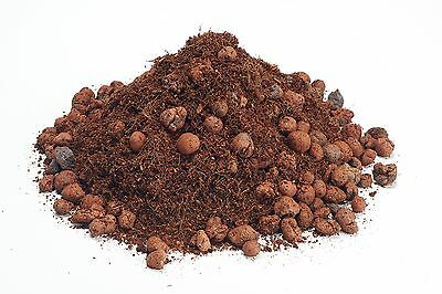 Hydro Coir +  Clay Pebbles - Hydroponic Growing Media (1-45 Litres)