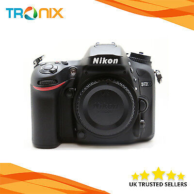 Nikon D7200 Digital SLR Camera 24.2MP Body Only in Black