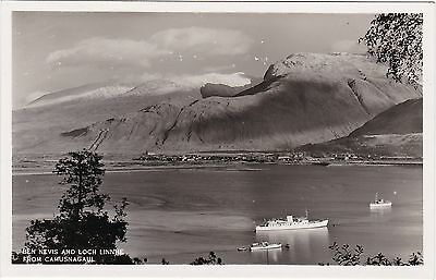 Ben Nevis & Loch Linnhe From Camusnagaul, FORT WILLIAM, Inverness-shire RP