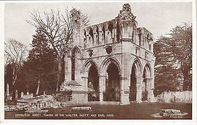 Tombs Of Sir Walter Scott & Earl Haig, Dryburgh Abbey, MELROSE, Roxburghshire