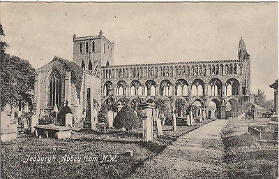 The Abbey From North West, JEDBURGH, Roxburghshire