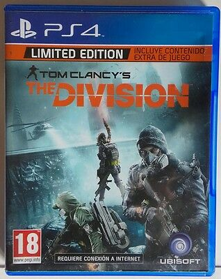 The Division. Limited Edition. Ps4. Fisico. Pal España
