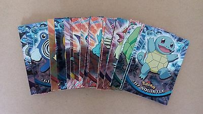 27 of 72 Topps Pokemon TV Animation 1 Foil Set Cards - Mint Condition - Free P&P