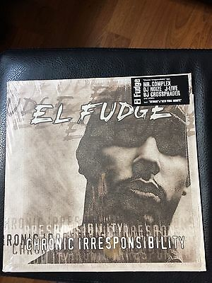 El Fudge Hip Hop Vinyl Album Classic Original Pressing