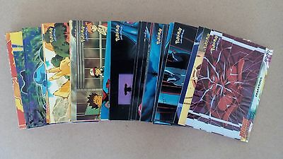 70 of 72 Topps (Blue) Pokemon First Movie Set Cards - Mint Condition - Free P&P