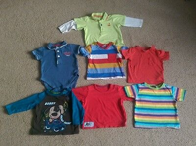 Bundle of Boys Tops and Tshirts Age 3-6 Months