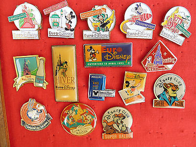 lot de 15 pin's sur Disney