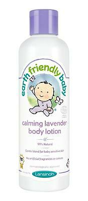 Earth Friendly Baby Calming Lavender Body Lotion Ecocert