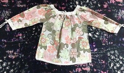 Sprout Baby Girls Long Sleeve Smock Top 00