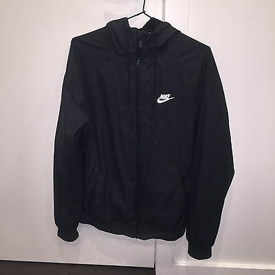 Black Nike Spray Jacket / Rain Jacket (small)
