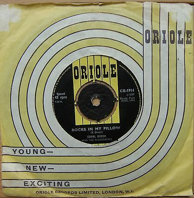 Errol Dixon - Rocks In My Pillow Rare early Ska single