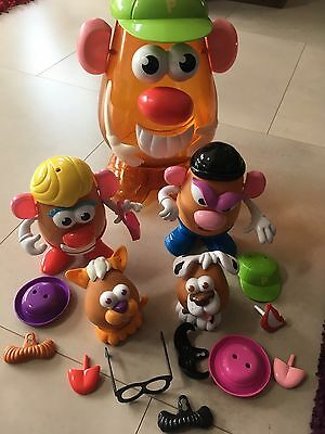 Mr Potato Head Family With Large Storage Container