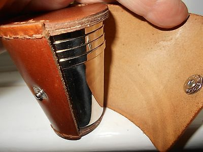 Stirrup Cups - Set Of 4 - In Leather Case