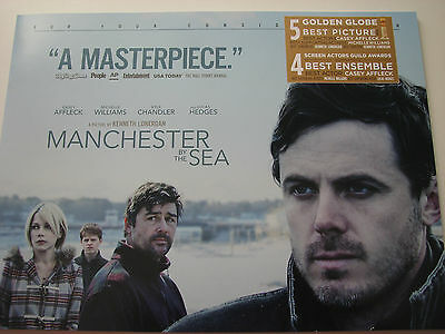 Manchester by the Sea  Pressbook Press book Oscar ad Booklet 14 pages