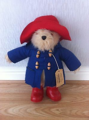 vintage I981 Gabrielle design paddington bear large soft toy in mint condition