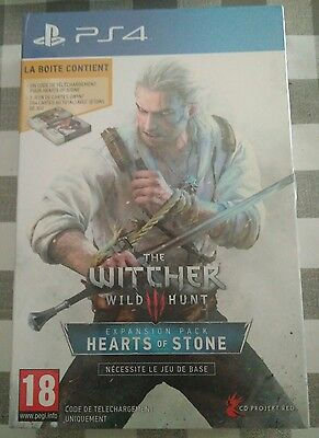 The Witcher 3 Hearts of Stone - PS4 - Version française