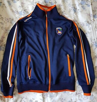 armagh gaa vintage style retro tracksuit top. size small