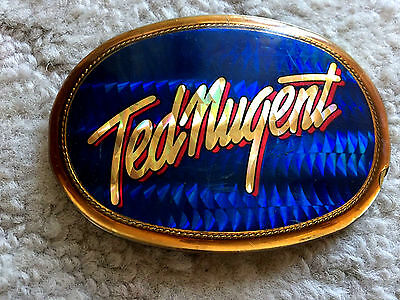 1977 Pacifica Ted Nugent Belt Buckle