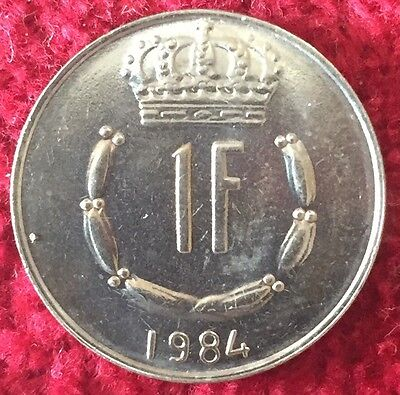 Luxemburg Luxembourg 1 Francs 1984