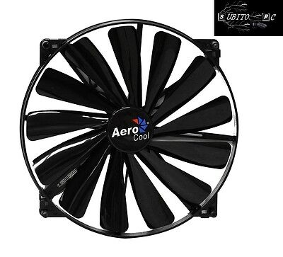 Aerocool Dark Force Ventola da 200mm Full Black EN51356