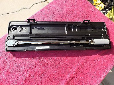 """Snap-On """"mint!* 1/2"""" Drive Qd3R250A """"new Style"""" 80-Tooth Torque Wrench!"""