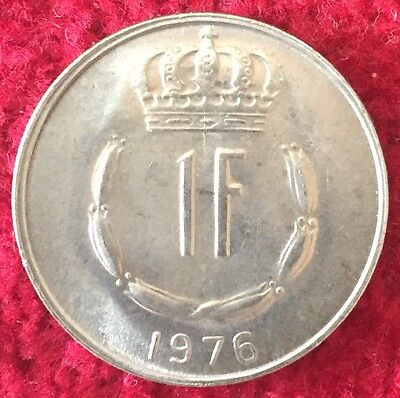 Luxemburg Luxembourg 1 Francs 1976