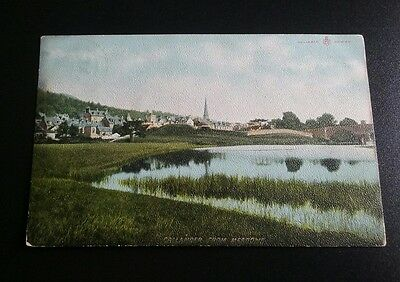 Callander From The Meadows Vintage Postcard | Perthshire | used 1906