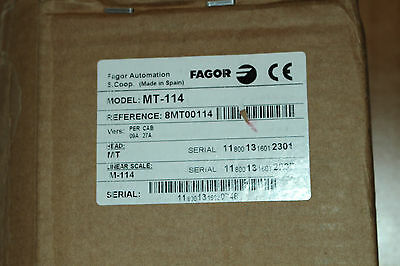 Fagor Linear Encoder MT-114 8MT00114 Glasmassstab