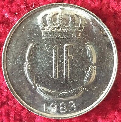 Luxemburg Luxembourg 1 Francs 1983