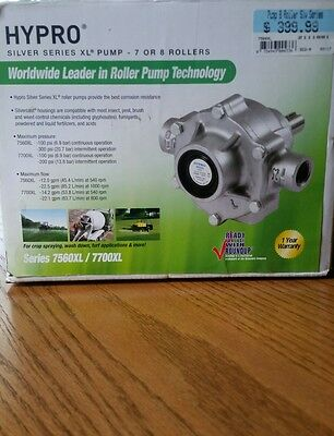 Hypro Pump With Super Rollers And Vinton Seal, 7560Xl, Silver Series Brand New!!