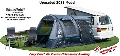 Westfield Travel Smart Hydra 300 AIR Motorhome Awning (Low Top)