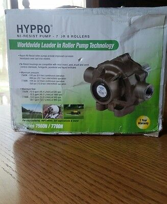 Hypro Pump With Super Rollers And Vinton Seal, 7560N, Nickel Brand New