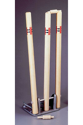 "Gray Nicolls Official Spring Return Cricket Sports Stumps Wickets 28"" Senior"