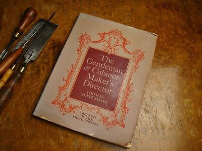 Thomas Chippendale THE GENTLEMAN & CABINETMAKERS DIRECTOR Catalogue 250 pages