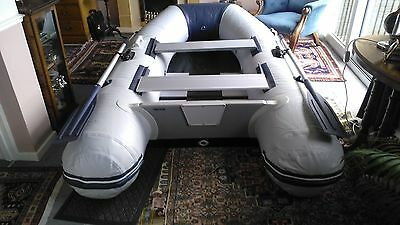 Waveline Inflatable Dinghy - 2.7m slatted floor, stored indoors, never used