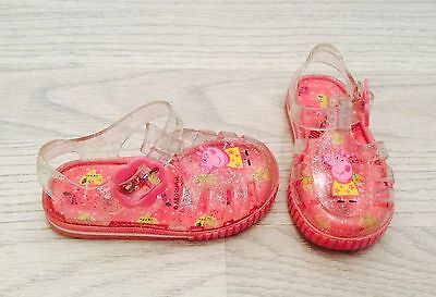 Peppa Pig girls Jellies jelly shoes infant size 3 from NEXT