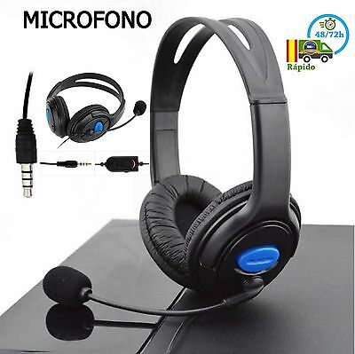 Auriculares Cascos Sony Ps4 Juegos Headset Con Micrófono Gaming Playstation4