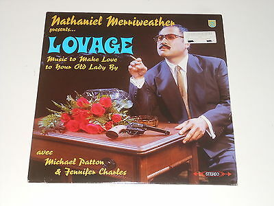 Nathaniel Merriweather - Lovage - 2LP - ‎Music To Make Love To Your Old Lady By