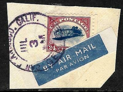 504 - Usa - 1918 - Inverted Jenny - Forgery - Faux - Fake